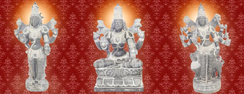 Parvathi, Durga Devi, Padmavathi