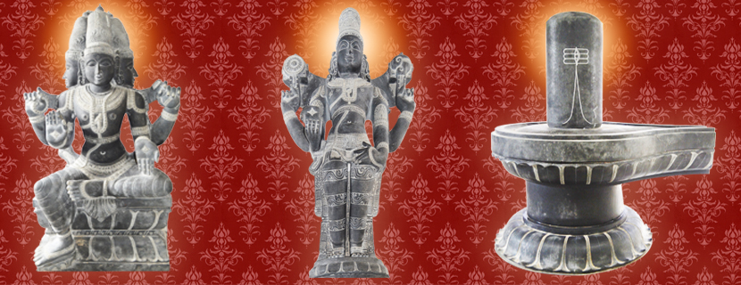 Brahama, Vishnu, Shiva