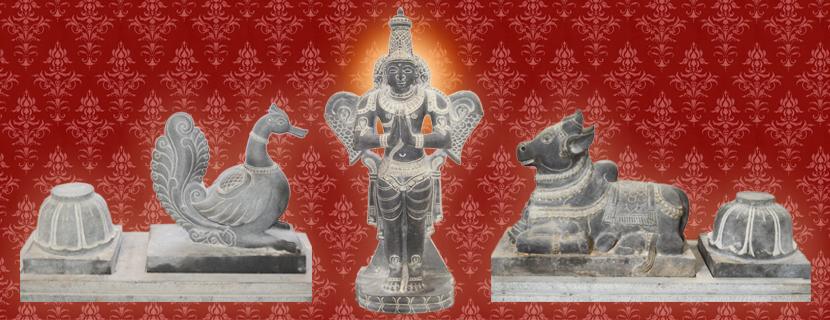 Vahanas - Annam, Garuda, Nandhi